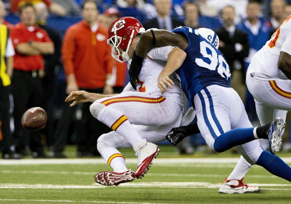 Historic Collapse By Chiefs Ends Season With 45-44 Loss To Colt…