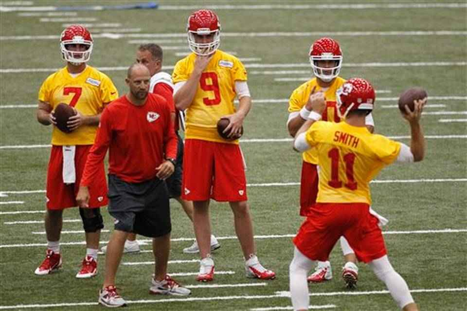 Alex+Smith+Aaron+Murray+Tyler+Bray+Chase+Daniel+Kansas+City+Chiefs+Minicamp+2014