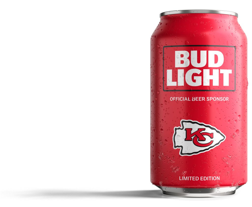 Bud Light Chiefs Can
