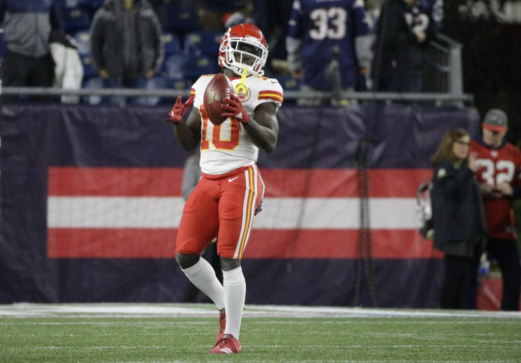 Patriots Fan Who Threw Beer on Chiefs WR Tyreek Hill Gets Lifetime Suspension From Gillette Stadium